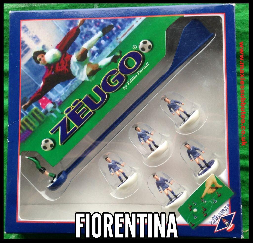 #subbuteo Zeugo football team Fiorentina