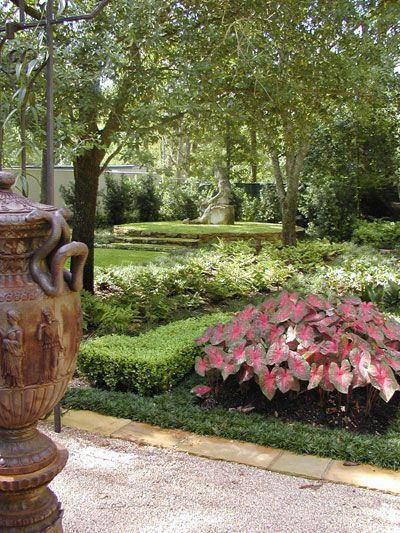 Landscape Design Houston|Tuscan Estate Garden Design|Italian Garden