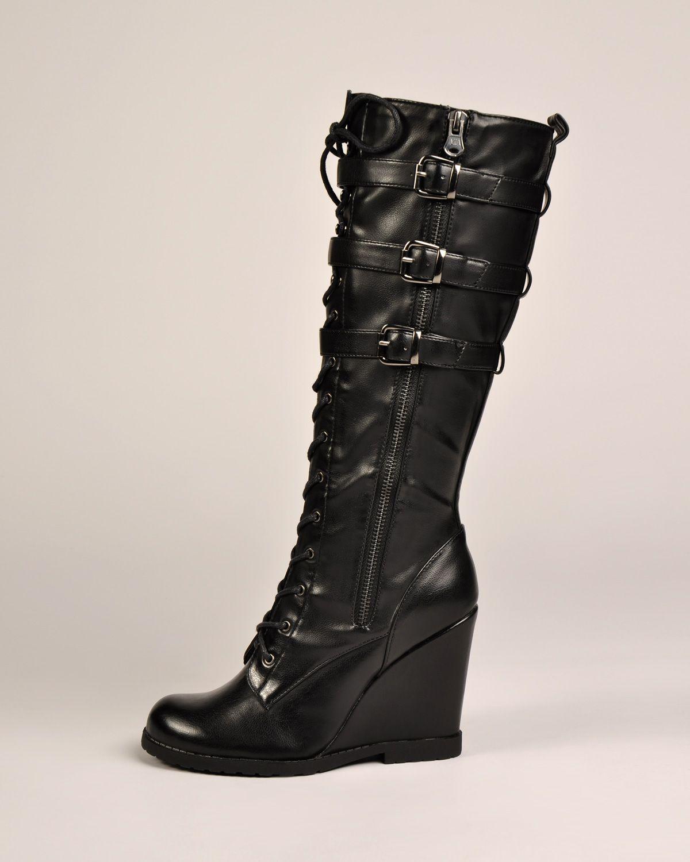 1d61f22bd24 MIA Ursela Wedge Boots