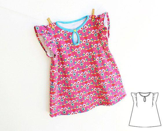 SWEETHEART Baby Girl Dress pattern Pdf sewing pattern by PUPERITA ...