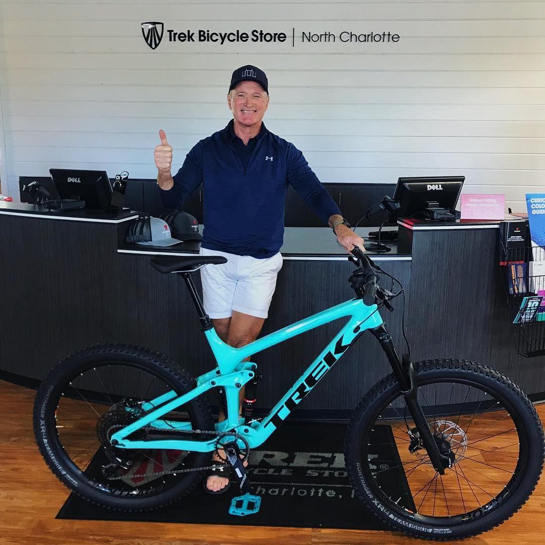 Trek Of Clt On Instagram Jeff Took His Miami Green Remedy 9 7 Home Today Happy New Bike Day Jeff Trekofclt Wepedal Trek Bicycle Mountian Bike Trek Bikes