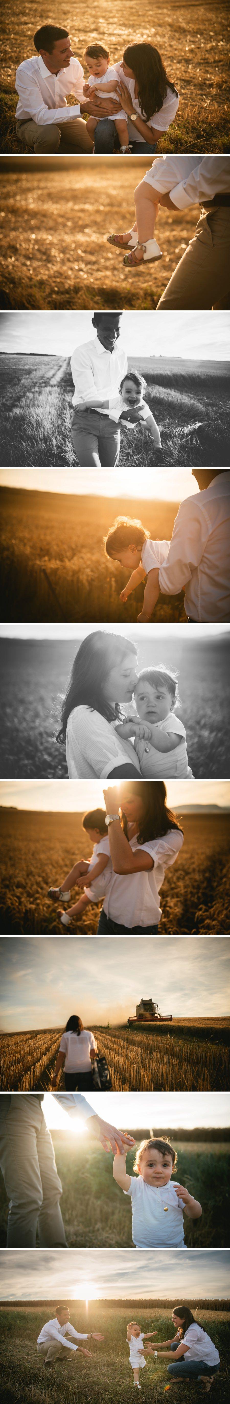 Une séance famille au coucher du soleil en Auvergne - Zephyr & Luna photography