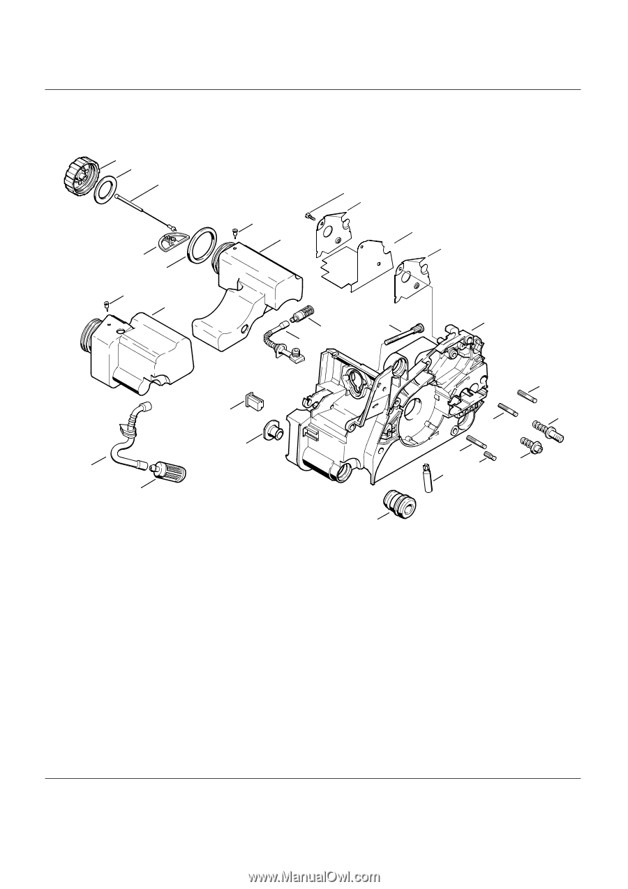 Stihl MS 180 C-BE | Parts List - Page 2