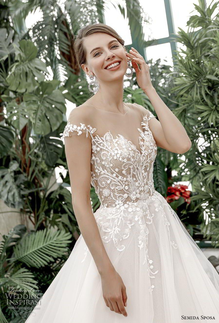 Semida Sposa 2020 Wedding Dresses Amazon Bridal Collection Wedding Inspirasi Wedding Dresses Amazon Spring Wedding Dress Wedding Dresses