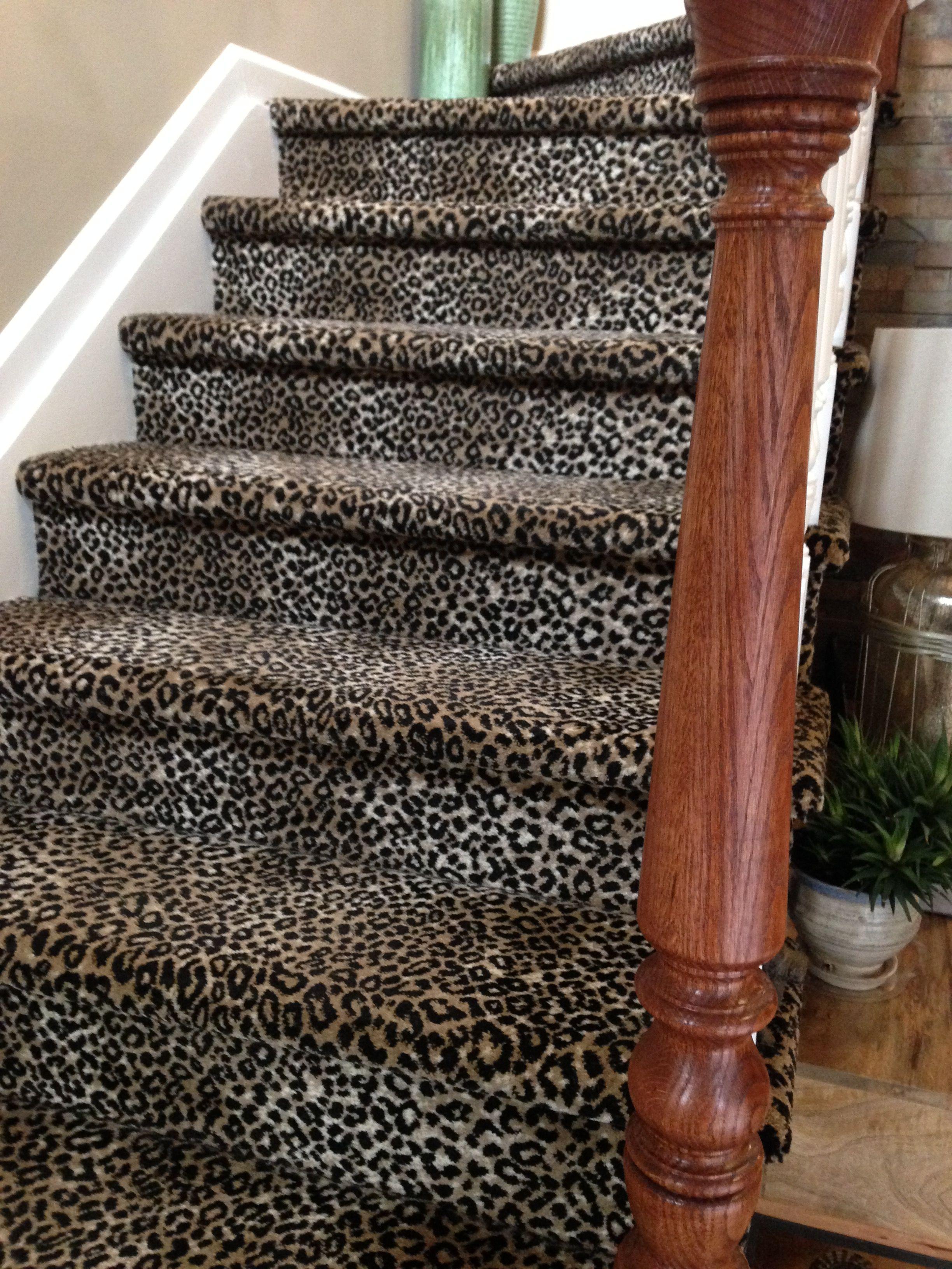 Best Leopard Print Staircase Stairway To Heaven Animal Print 400 x 300
