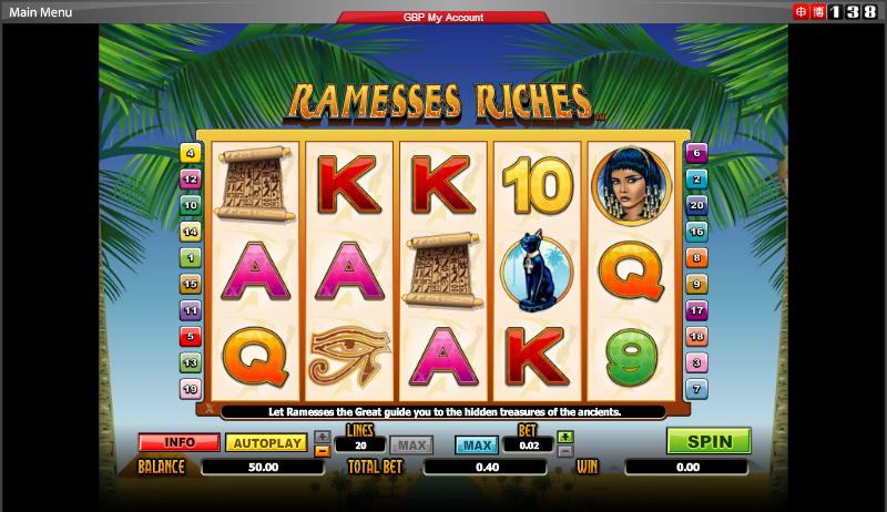 Vista casino games