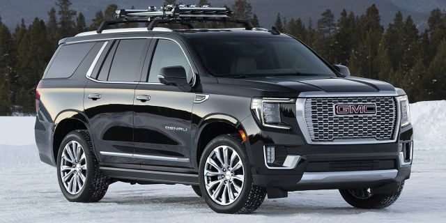 2021 Gmc Yukon Debuts With More Size Luxury And Tech In 2020 Gmc Yukon Gmc Chevy Suv