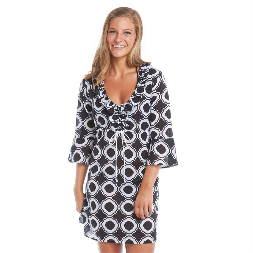 877e279a43a5c Mud Pie Women's Heidi Eyelet Cover-Up at Amazon Women's Clothing store: |  What we Love | Fashion, Cover up, Beach tunic