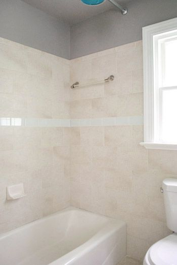 Replacing Old Shower Border Tiles Bathroom Design Tool Young