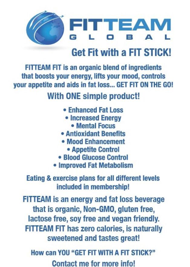 Eam Fit One Simple Stick You Pour Into Your Water No Pills Shakes And It S All Natural Organic Gluten Free Soy Lactose An