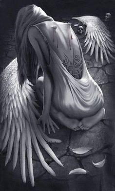 Photo of Fallen Angel Poetry: Broken Wings