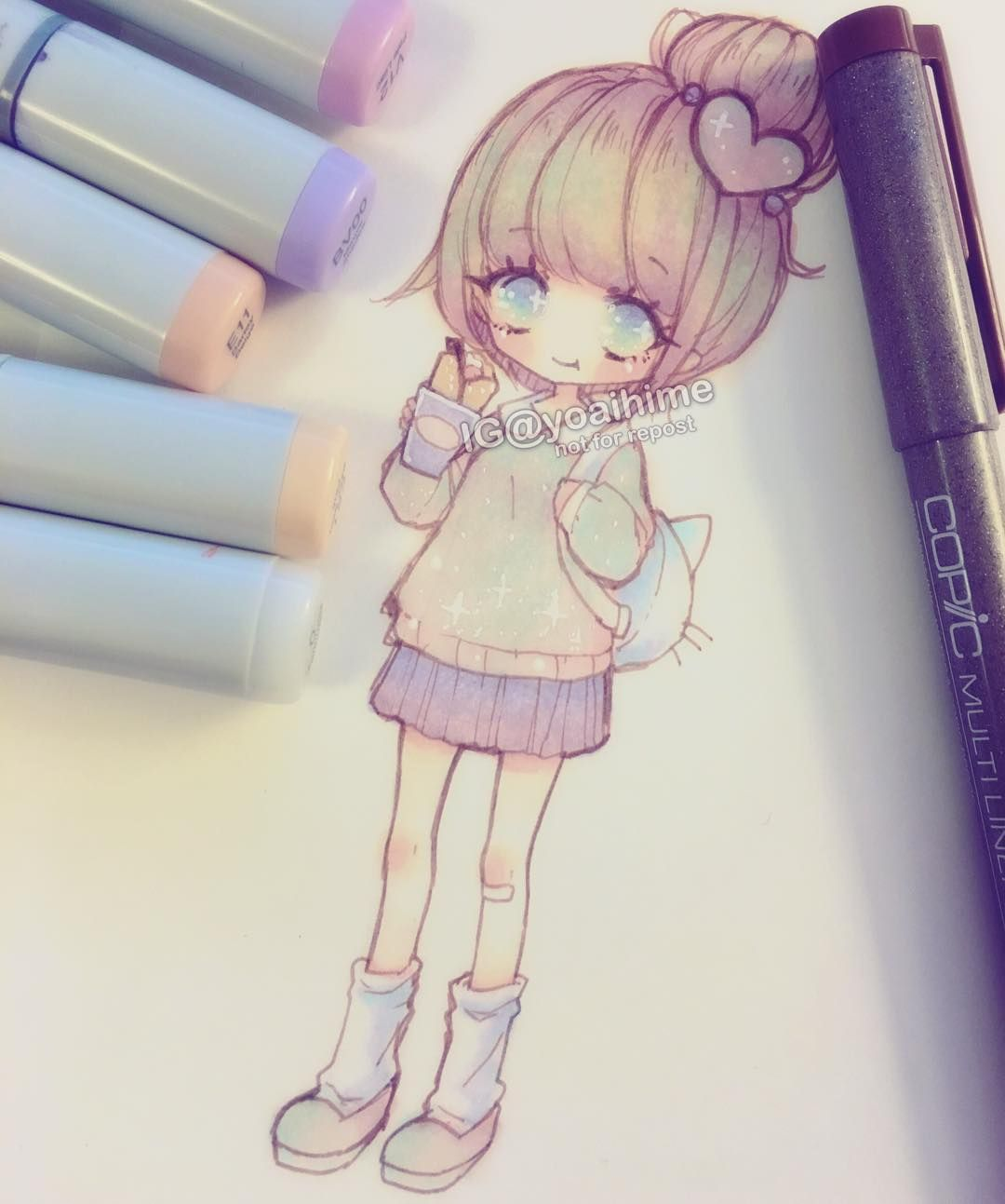 I Want A Crepe Japanese Style Crepes Are So Pretty But I Couldn T Draw In Detail For This Because It Was So Small Cute Art Kawaii Drawings Cute Drawings