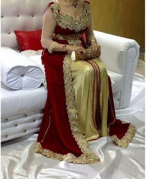 جزايرية ياجدك Rimas Ouakli M Fashion Gowns Afghan Clothes Traditional Dresses