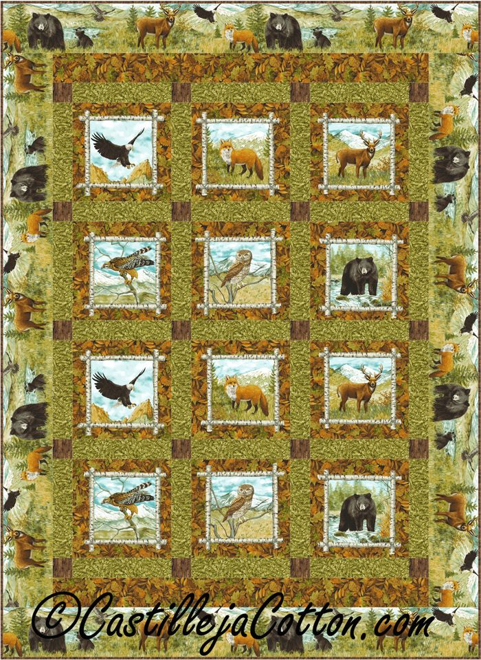 Easy lap and throw that uses two panels. Easy Tens Quilt Pattern ... : quilt patterns with panels - Adamdwight.com