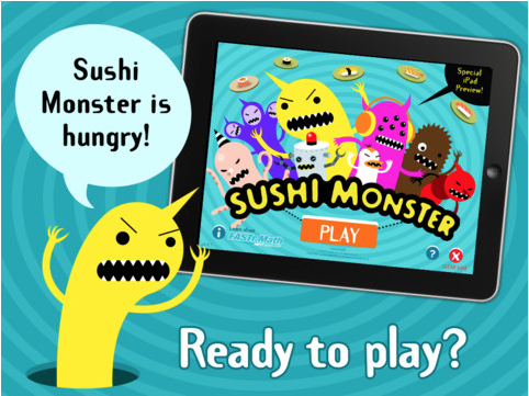Top 100 Free Apps For Preschoolers Every Free Preschool App You Need To Know About With Images Sushi Monster Kids App