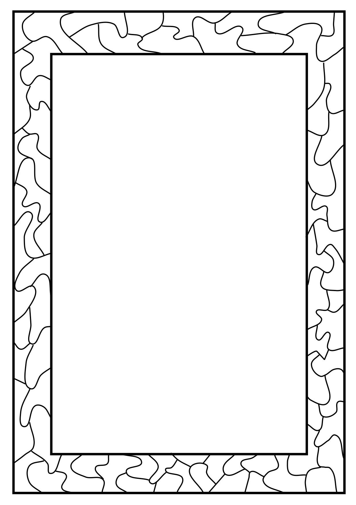 Little loops double page border free page borders - Full Page Borders Print Out A Wide Range Of Free Page Borders And Lesson Ideas