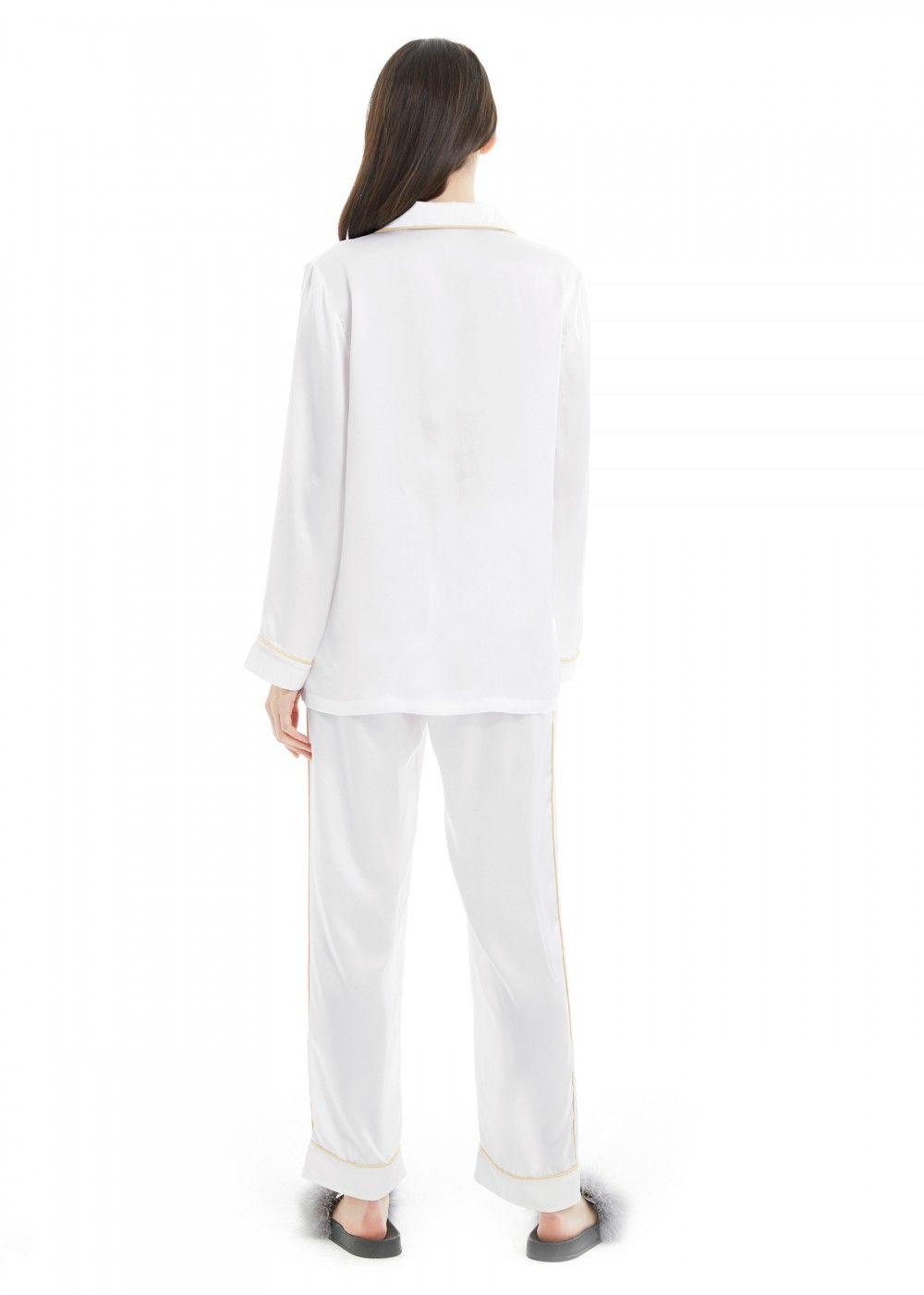 Buy 100 Silk Pajamas For Women Sleepwear Sets in 2020