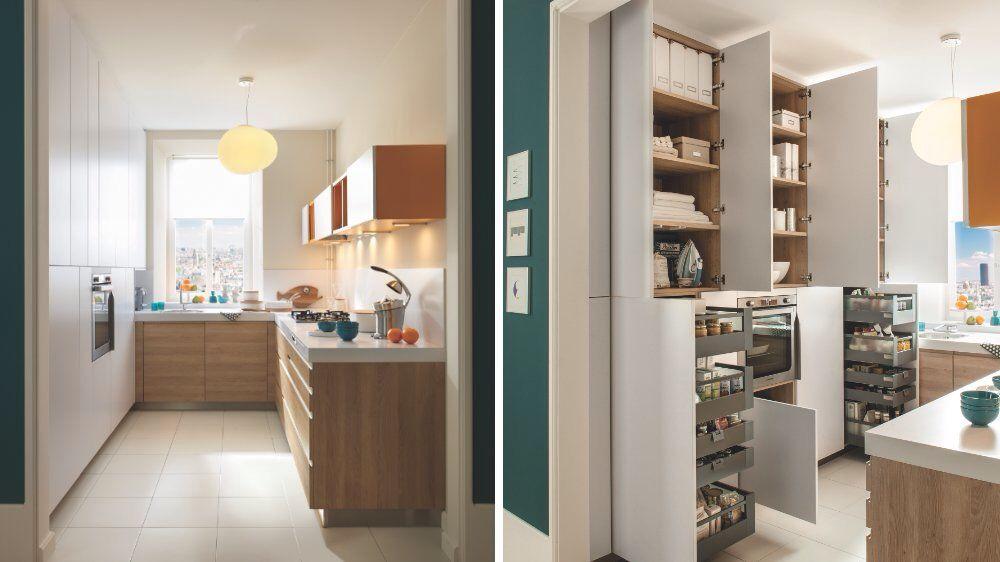 Maxi rangements...dans une petite cuisine...