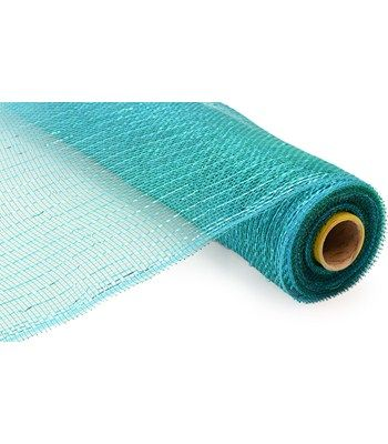 Turquoise Standard 21 Deco Mesh