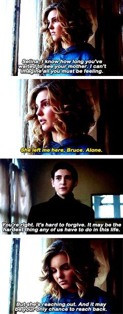 she left me alone, Bruce   for 11 years     #bruce #selina