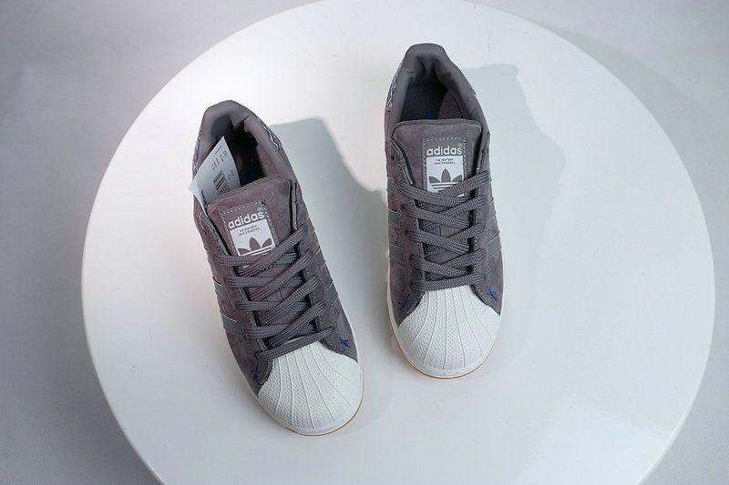 Nuove Adidas Superstar Originali Solid Una Scarpa Solid Grey Solid Originali Grey 9bd466