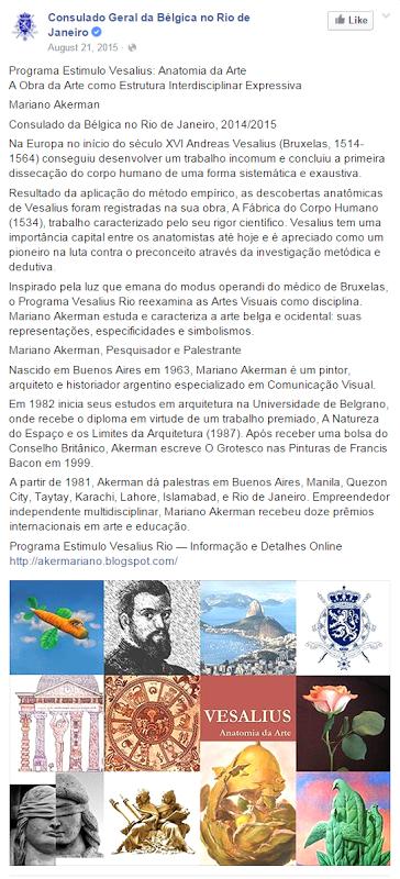 Bernard Quintin, Consulado Geral da Bélgica no Rio de Janeiro ...