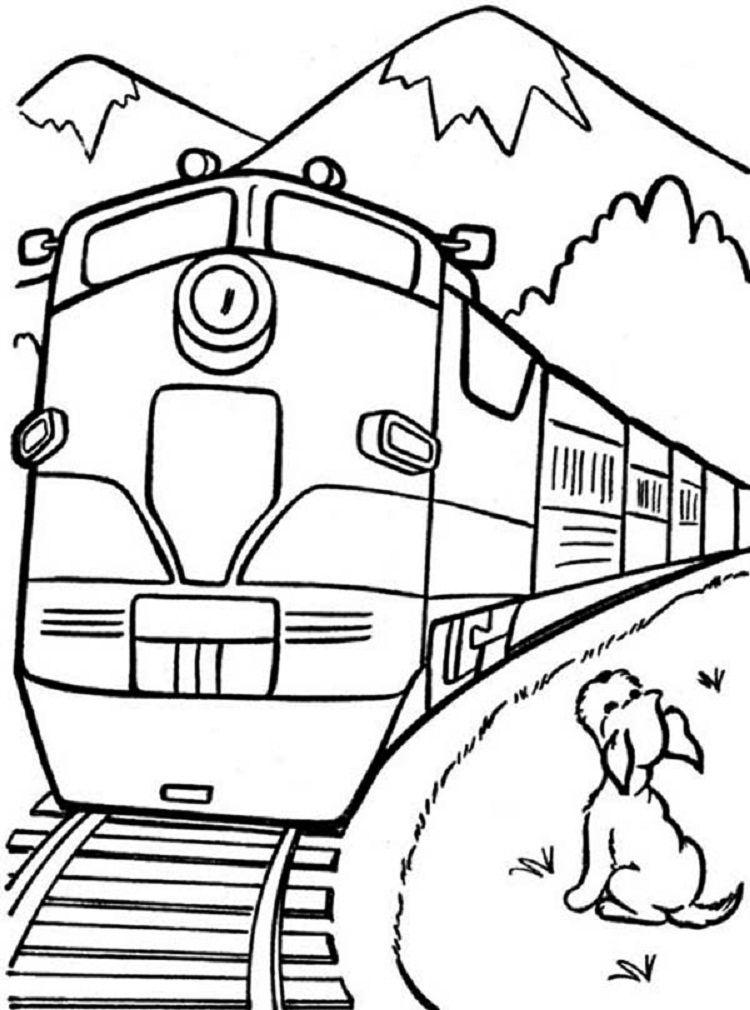 Train Coloring Pages Pdf Train Coloring Pages Dog Coloring Page Coloring Pages