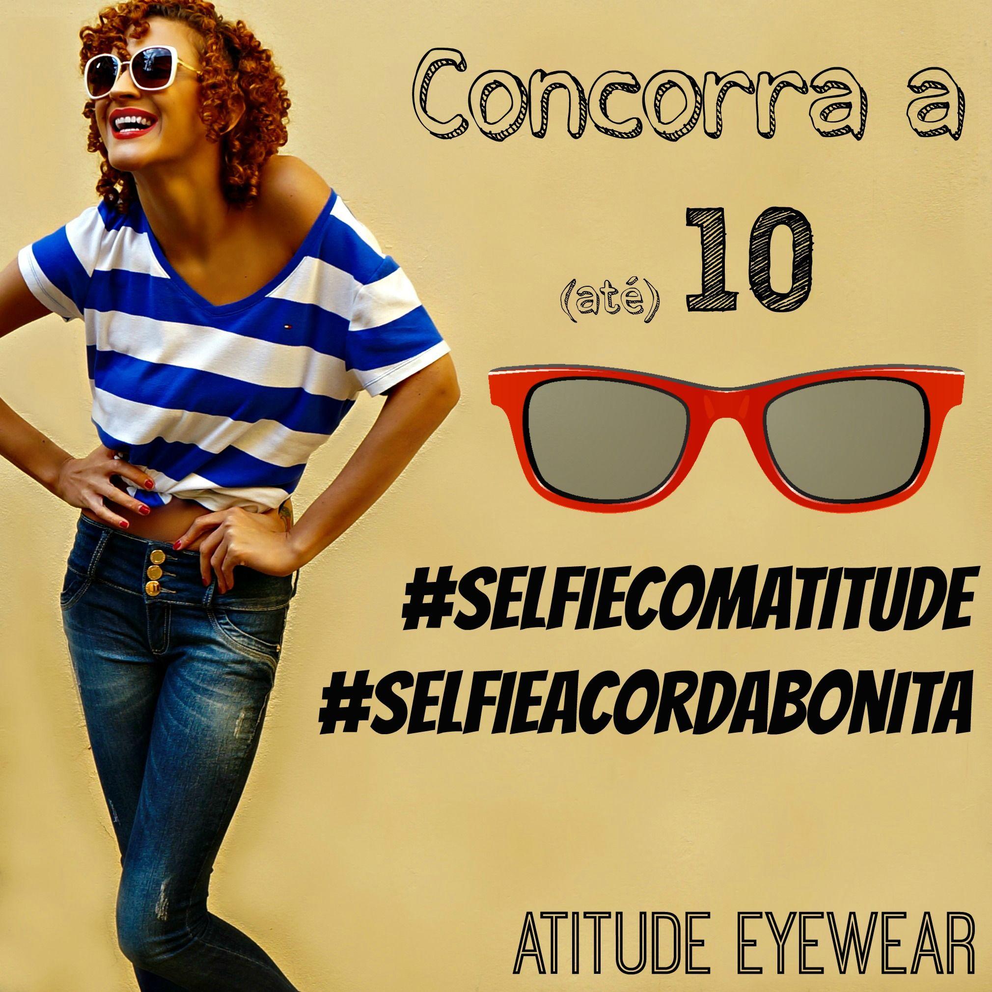 1d9937c25bf0f Quem quer ganhar um (ou 10) óculos Atitude Eyewear
