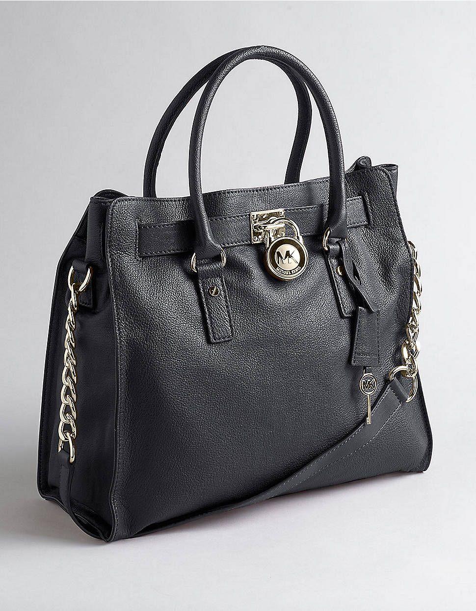 8c87475b255e Michael Michael Kors Hamilton Large Tote Black-I m in love! Wish I could  own this bag!