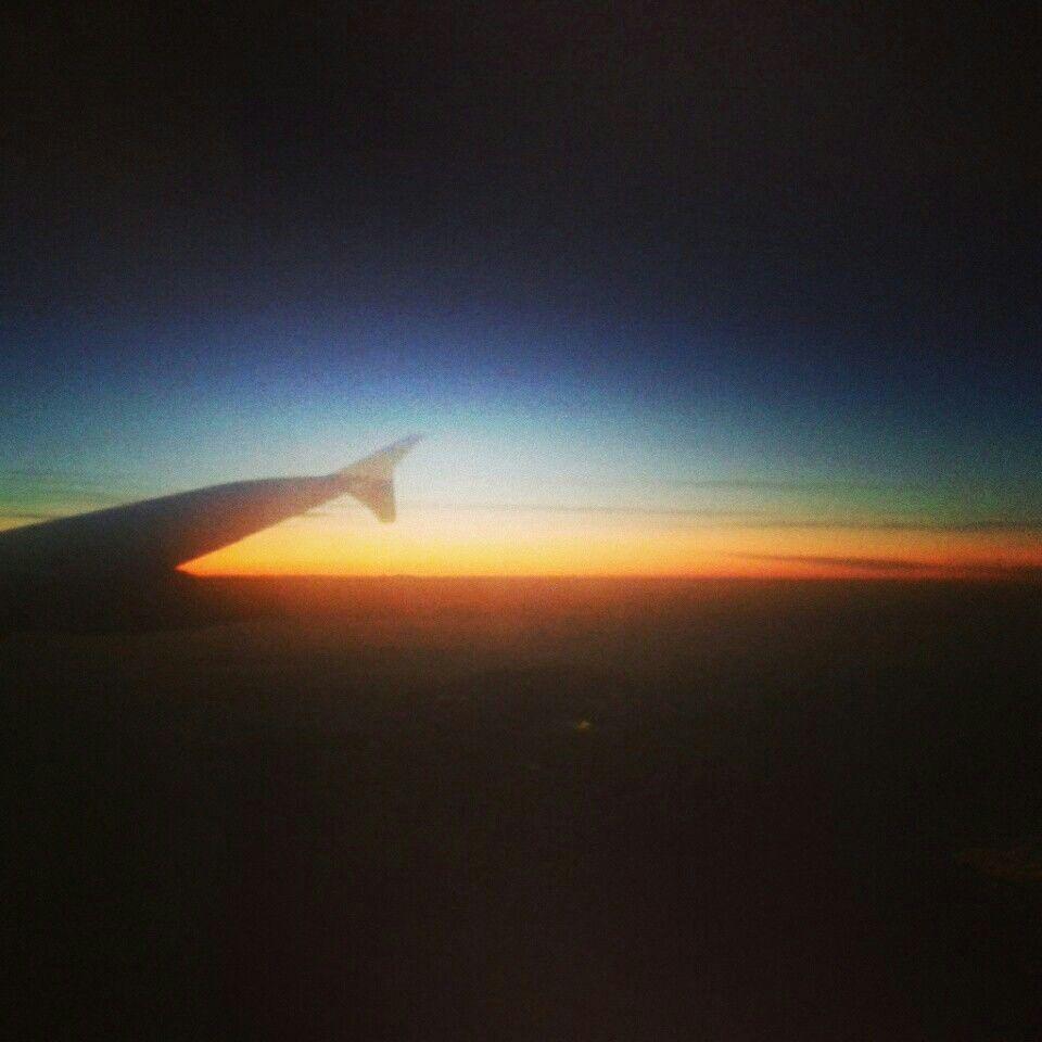 Dall aereo..
