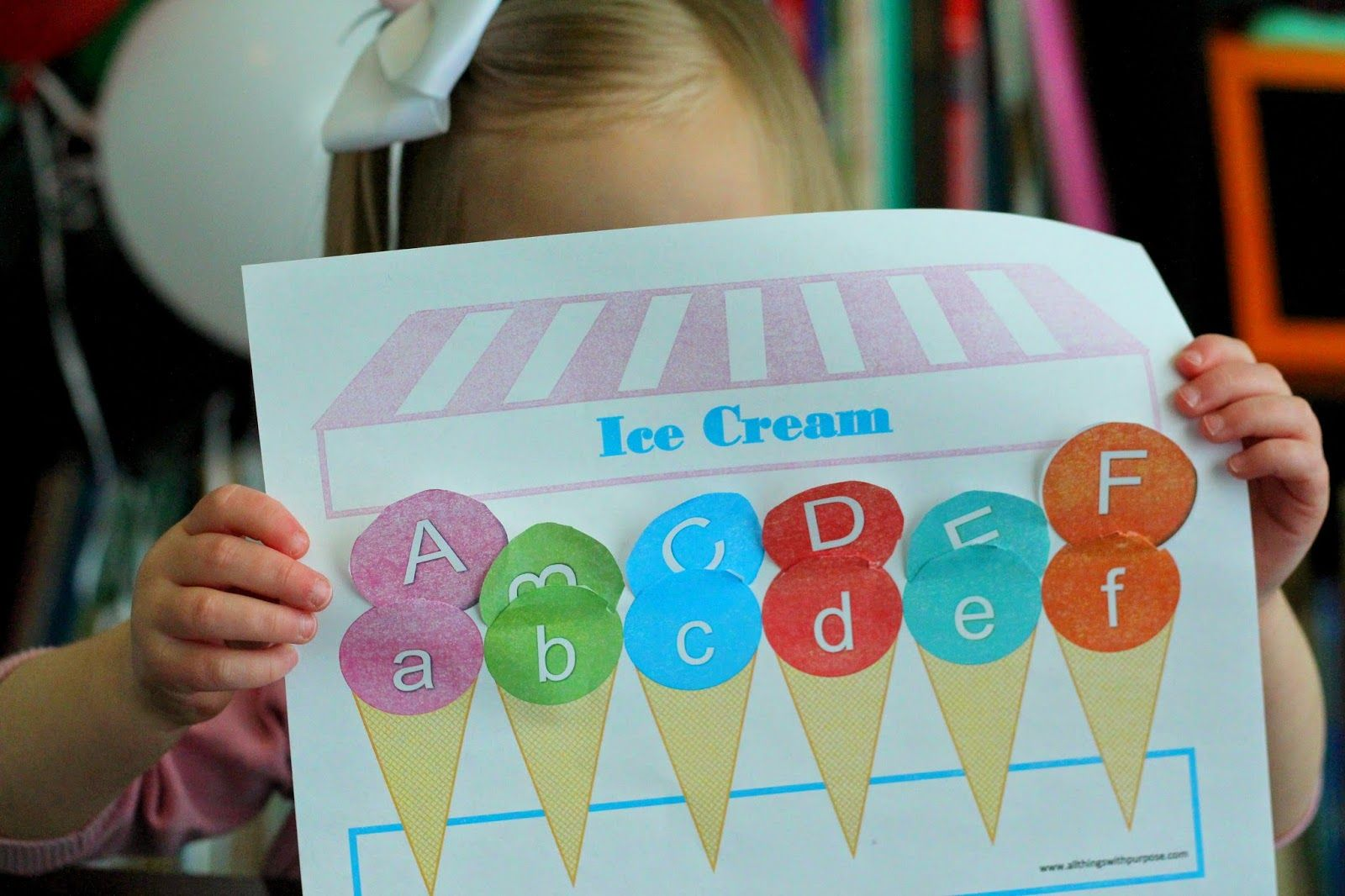 Preschool Letter Sorting Printable With Images