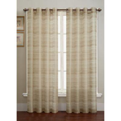 Bryce Sheer Grommet Window Curtain Panel Bedbathandbeyond Com 95