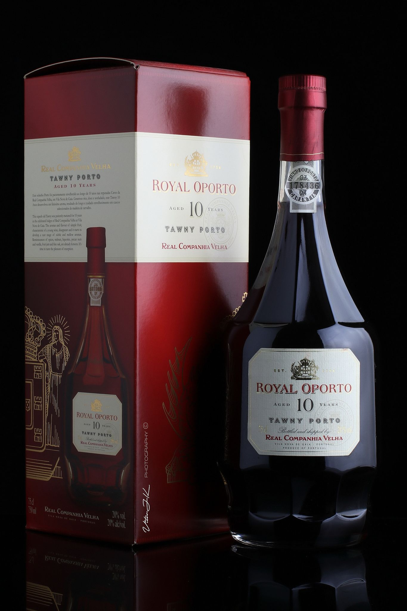 Royal Oporto Aged 10 Years Tawny Porto Real Companhia Velha Porto Age 10 10 Years
