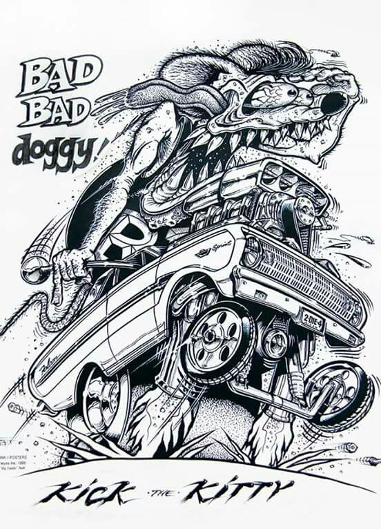 Pin By Rob Pearson On Ads Amp Art For Gearheads Rat Fink