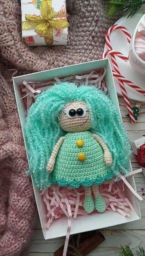 Cute little doll crochet pattern #littledolls