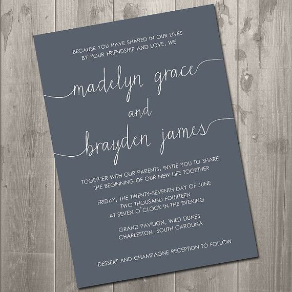 Wedding Invitation Wording Together With Their Parents: Decided On DIY Wedding Invitations? What You Need To Know