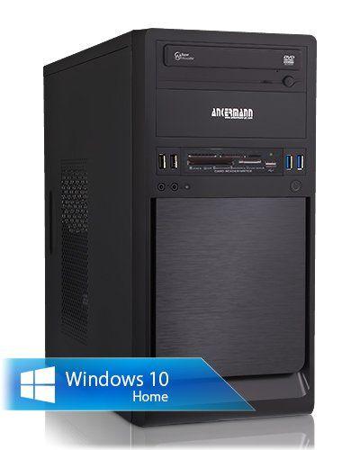 Ankermann-PC Superclocked, Intel Core i7-6700, MSI GeForce N730 4GB DDR3, 16 GB RAM KINGSTON DDR-4 PC2133, 2TB HDD WD, Microsoft Windows 10 Home 64Bit (Deutsch), Card Reader, EAN 4260370252447
