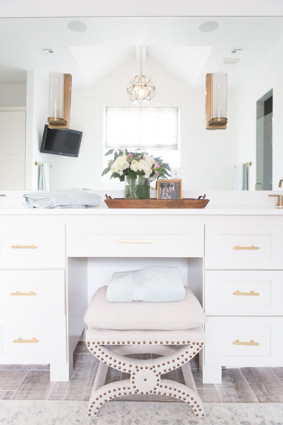 REFRESH YOUR MASTER BEDROOM AND BATH WITH POTTERY BARN in 5