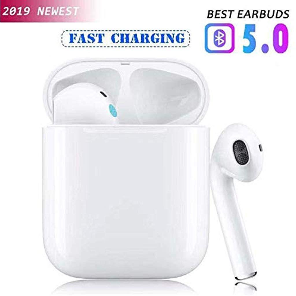 Ecouteur Bluetooth 5 0 Sans Fil Oreillette Bluetooth Ipx6 Sport Etanche Ecouteur Stereo Reduction Du Bruit C Casque Bluetooth Casque Sans Fil Ecouteur Sans Fil