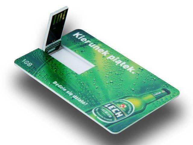 Carte De Visite USB Pour Une Marque Biere