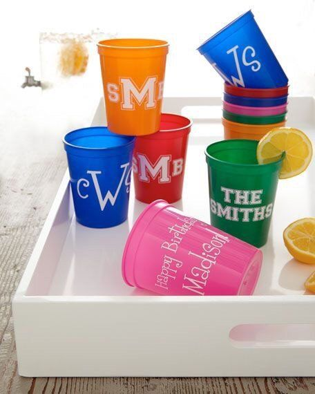 Customized plastic party cups - you choose your design