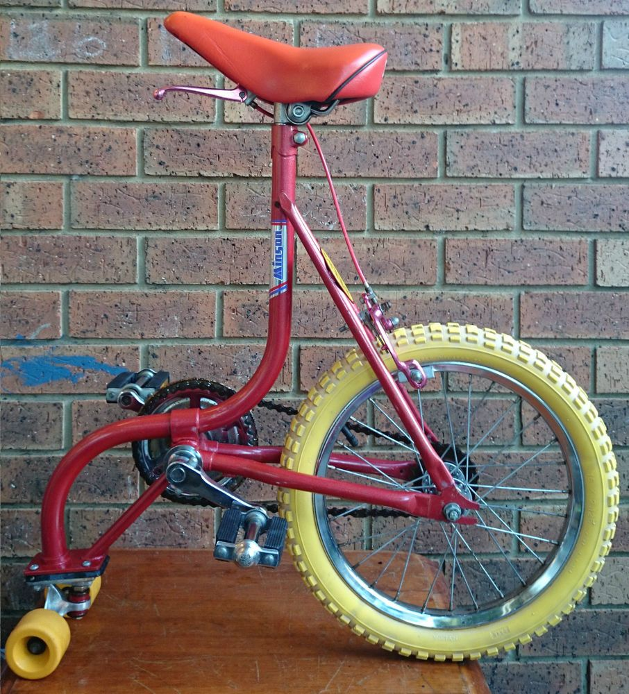 Twisties Promotional Edition 1983 Minson Skate Bike Extremely Rare