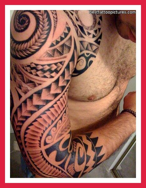 Men for polynesian tattoos shoulder