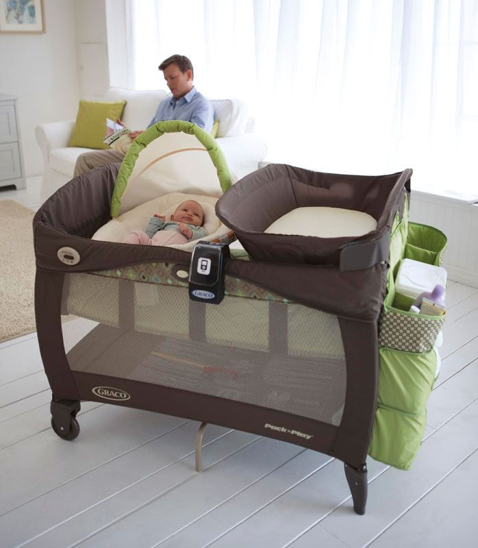 Baby Pack And Play With Bassinet Changing Station And