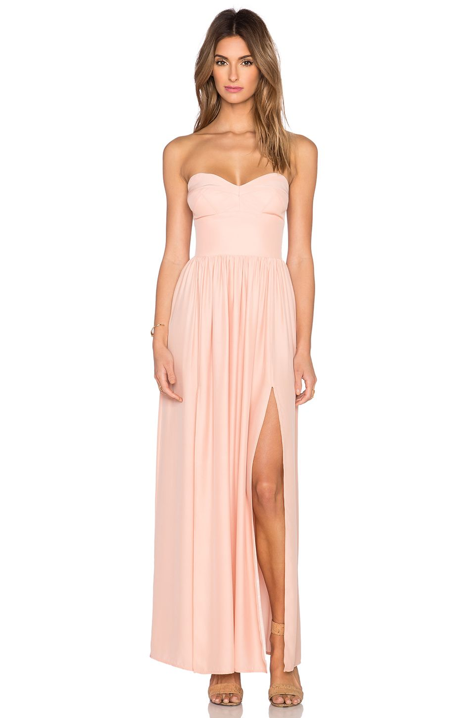 AMANDA UPRICHARD GISELE MAXI DRESS. #amandauprichard