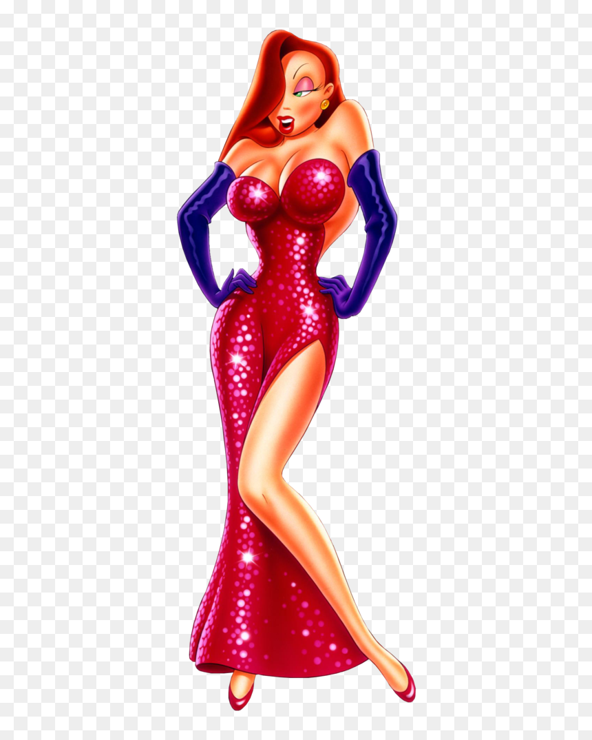 Who Framed Roger Rabbit Characters Tv Tropes Mujer Roger Rabbit Hd Png Download Jessica Rabbit Png Roger Rabbit Characters Roger Rabbit Rabbit Png