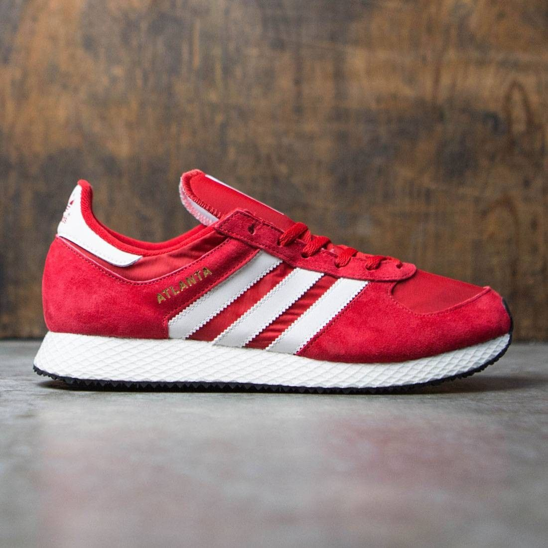 Adidas Men Atlanta Spzl Red Scarlet Chalk White Gold