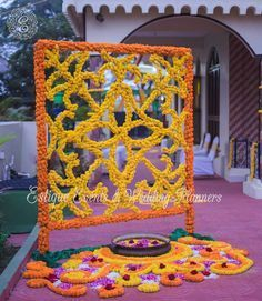 The Flowers Of Prosperity - Marigold Decor