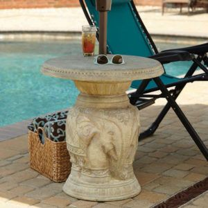 Diy Patio Umbrella Standside Table Mom In Music City Inside Dimensions 2400 X 1200 Side Stand Most Dogs Are Not Going To Eliminate W
