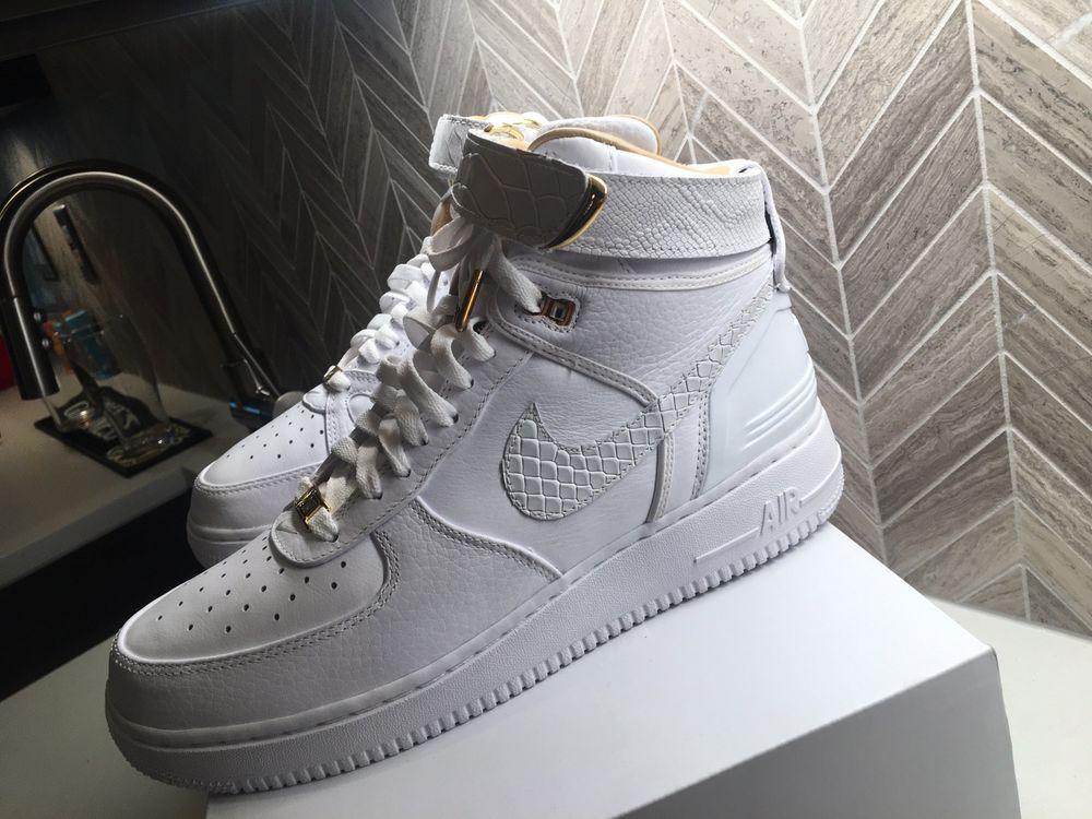 Nike Mens Air Force 1 Hi Just DonWhite Ao1074 100 Af100 Mens